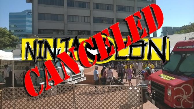 Ninja-Con 2017 is canceled!